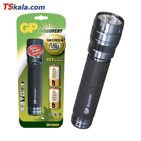 چراغ قوه جی پی GP LOE404 5W CREE LED FlashLight