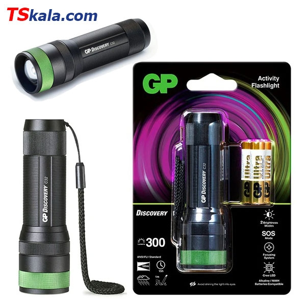 چراغ قوه جی پی GP C32 Discovery Activity FlashLight