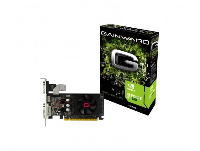 کارت گرافیک گینوارد GAINWARD GeForce GT610 1GB 64b
