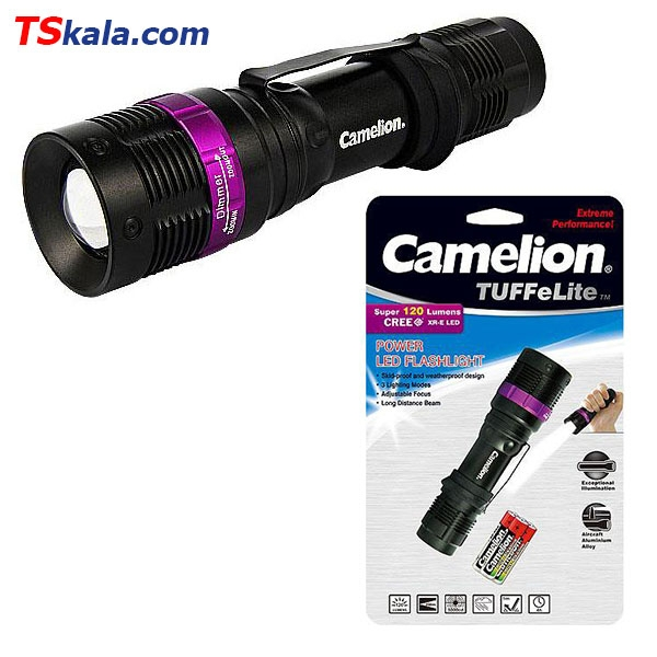 Camelion T536 TUFFeLite Power LED FlashLight | چراغ قوه پلیسی کملیون