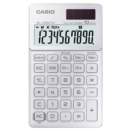 ماشین حساب کاسیو | CASIO SL-1000TW-WE Calculator