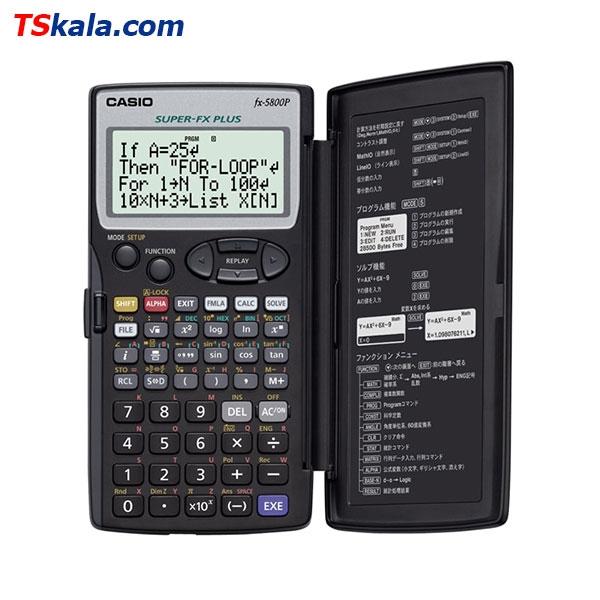 ماشین حساب کاسیو CASIO fx-5800P Calculator