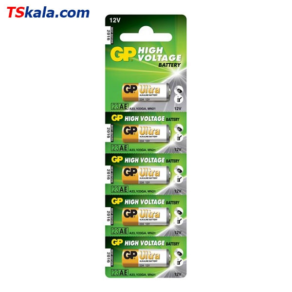 باتری ریموت کنترل جی پی GP 23A Remote Control Battery 5x