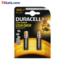 DURACELL BASIC Alkaline Battery – AAA|LR03 2x | باطری نیم قلمی دوراسل