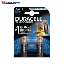 DURACELL TURBO MAX Alkaline Battery – AA|LR6 2x | باطری قلمی دوراسل