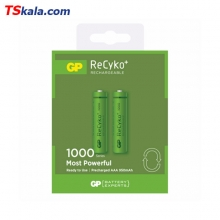 GP HR03|AAA Ni-MH Rechargeable Battery 1000mAh 2x | باطری قابل شارژ