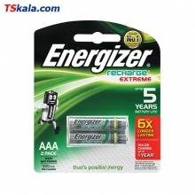 Energizer Rechargeable Battery 800mAh Ni-MH  - AAA|HR03 2x | باطری نیم قلم قابل شارژ