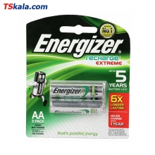 Energizer Rechargeable Battery 2300mAh Ni-MH - AA|HR6 2x | باطری قلم قابل شارژ