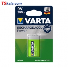 VARTA HR9V 200mAh Ni-MH Rechargeable Battery 1x | باطری قابل شارژ