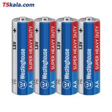 Westinghouse Super Heavy Duty Battery – AA R6P 4x | باطری قلم