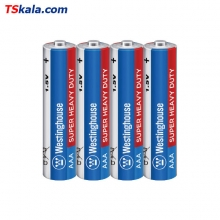 Westinghouse Super Heavy Duty Battery – AAA R03P 4x | باطری نیم قلم