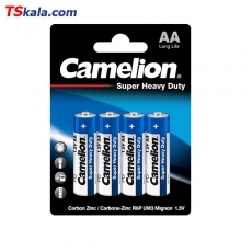 باتری قلمی کملیون Camelion R6P Super Heavy Duty AA 4x