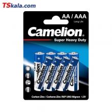 باتری کملیون سوپر هوی دیوتی 8تایی 4 عدد قلمی  و 4 عدد نیم قلمی
