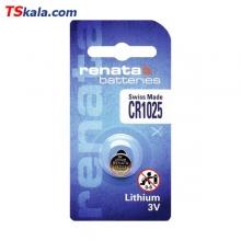 باتری سکه ای رناتا Renata CR1025 Lithium Battery 1x