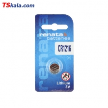 باتری سکه ای رناتا Renata CR1216 Lithium Battery 1x
