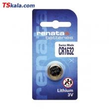 باتری سکه ای رناتا Renata CR1632 Lithium Battery 1x