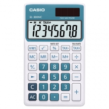 CASIO SL-300NC-BU Practical Calculator