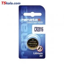باتری سکه ای رناتا Renata CR2016 Lithium Battery 1x