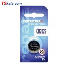 باتری سکه ای رناتا Renata CR2025 Lithium Battery 1x