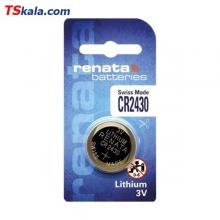 باتری سکه ای رناتا Renata CR2430 Lithium Battery 1x