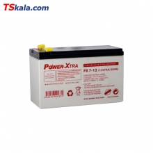 Power-Xtra 12V 7AH Sealed Lead Acid Battery | باطری سیلد لید اسید