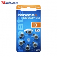 Renata 13|PR48 Hearing Aid Battery 6x | باطری سمعک رناتا