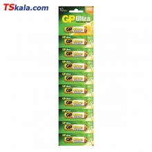 GP LR6|AA Ultra Alkaline Battery 10x | باطری قلم