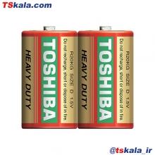 باتری سایز بزرگ توشیبا TOSHIBA R20KG.D HEAVY DUTY Battery 2x