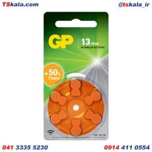 باتری سمعکی جی پی GP ZA13 Hearing Aid Battery 6x