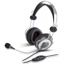 Genius HS-04SU Noise-Canceling on-ear Headset | هدست جنیوس