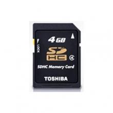 Toshiba SDHC Class4 Card - 8GB