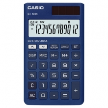 CASIO NJ-120D-BU Check | Practical Calculator | ماشین حساب جیبی کاسیو