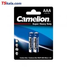 باتری نیم قلمی کملیون Camelion AAA SUPER HEAVY DUTY Battery 2x