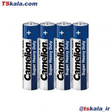 باتری نیم قلمی کملیون Camelion AAA SUPER HEAVY DUTY Battery 4x
