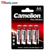 باتری قلمی کملیون Camelion LR6 Plus Alkaline Battery AA 4x