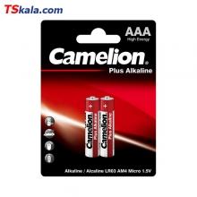 باتری نیم قلمی کملیون Camelion AAA Plus Alkaline Battery 2x