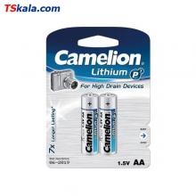 Camelion FR6|AA Lithium P7 Battery 2x | باطری قلم