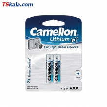 Camelion FR03|AAA Lithium P7 Battery 2x | باطری نیم قلم