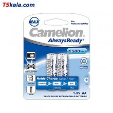 Camelion Rechargeable Battery 2500mAh Ni-MH - AA|HR6 2x | باطری قلم قابل شارژ