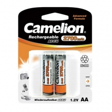 Camelion Rechageable ACCU Battery 2700mAh Ni-MH - AA|HR6 2x | باطری قلم قابل شارژ