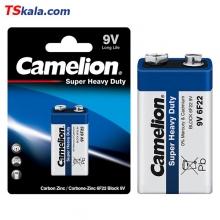 باتری کتابی 9 ولت کملیون Camelion 6F22 Super Heavy Duty 9V 1x