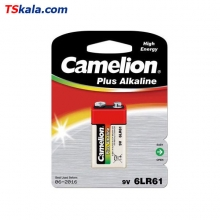 Camelion 6LR61|9V Plus Alkaline Battery 1x | باطری 9 ولت