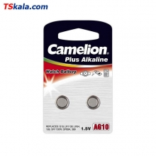 Camelion 389|LR54 Alkaline Battery 2x | باطری ساعت کملیون
