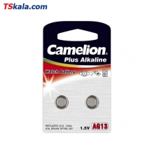 Camelion Button Cells - 357|AG13|LR44 2x | باطری ساعت