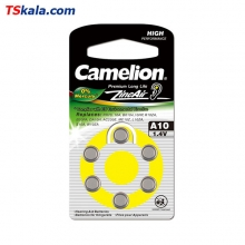 Camelion Hearing Aid Battery-10|PR70 6x | باطری سمعک