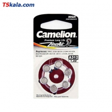 Camelion Hearing Aid Battery - Size 312 6x