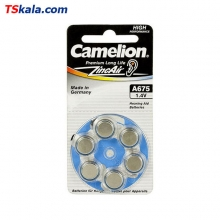 Camelion Hearing Aid Battery - Size 675 6x | باطری سمعک کملیون