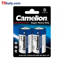 باتری سایز بزرگ Camelion R20P Super Heavy Duty D 2x
