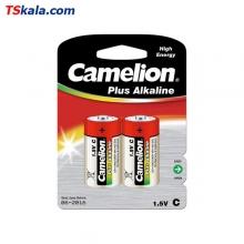 Camelion Plus Alkaline - C|LR14 2x | باطری متوسط پلاس آلکالاین کملیون
