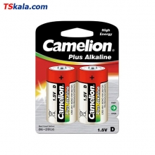 Camelion LR20|D Plus Alkaline Battery 2x | باطری سایز بزرگ